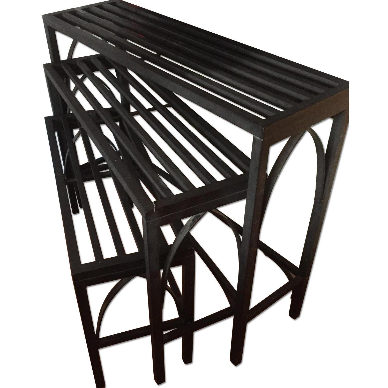 Pottery Barn Nesting Tables - image-0