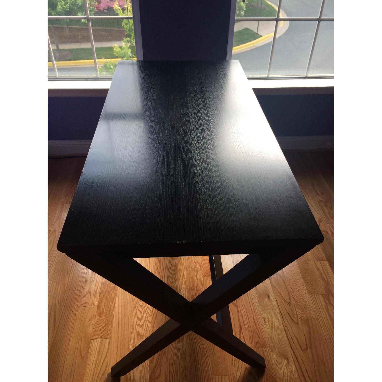 Crate & Barrel Spotlight Ebony Desk - image-2