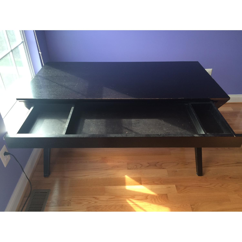 Crate & Barrel Spotlight Ebony Desk - image-6