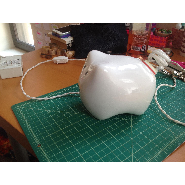 Ariel Rojo Pig Lamp - image-4