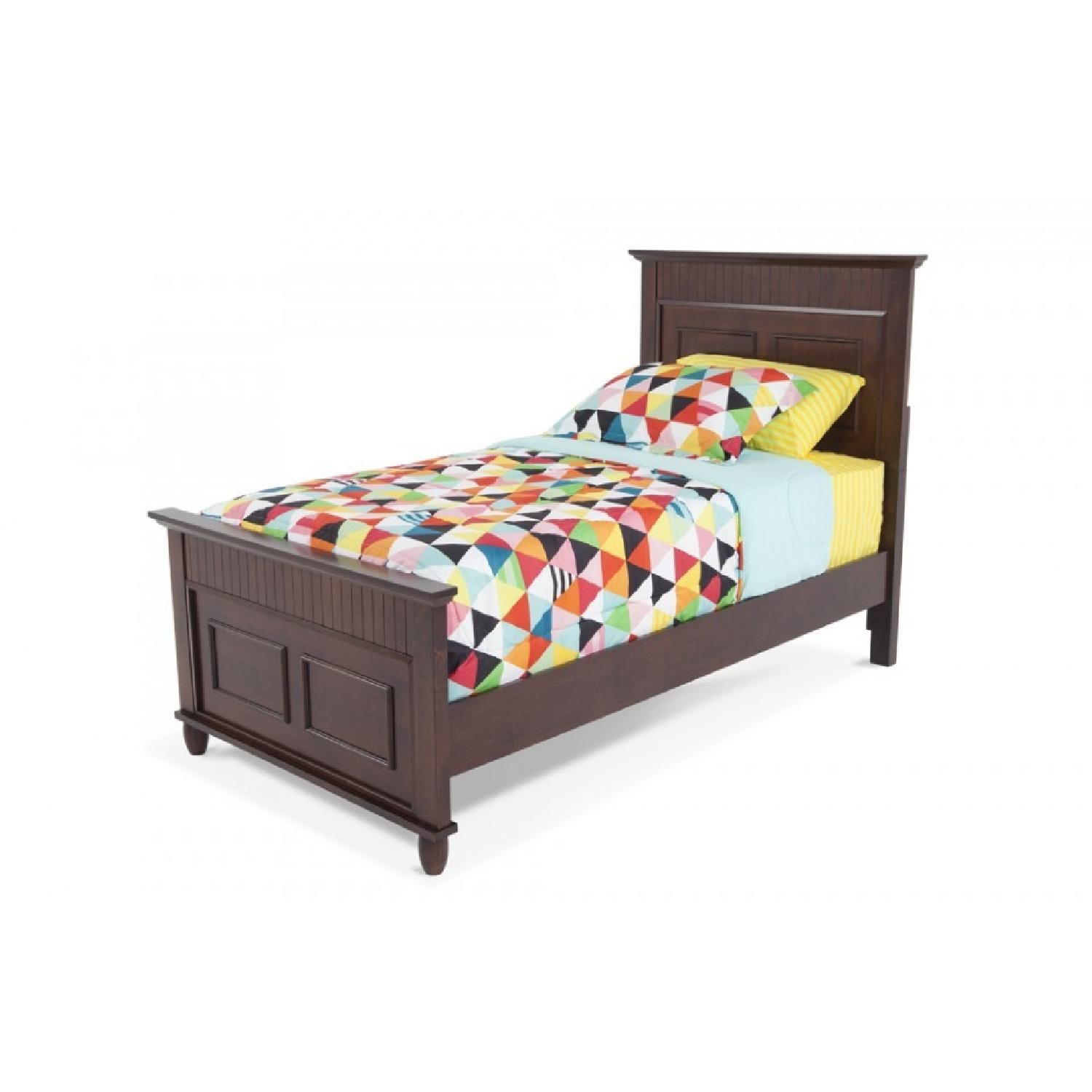 Bob's Spencer Cherry Twin Bed - image-0