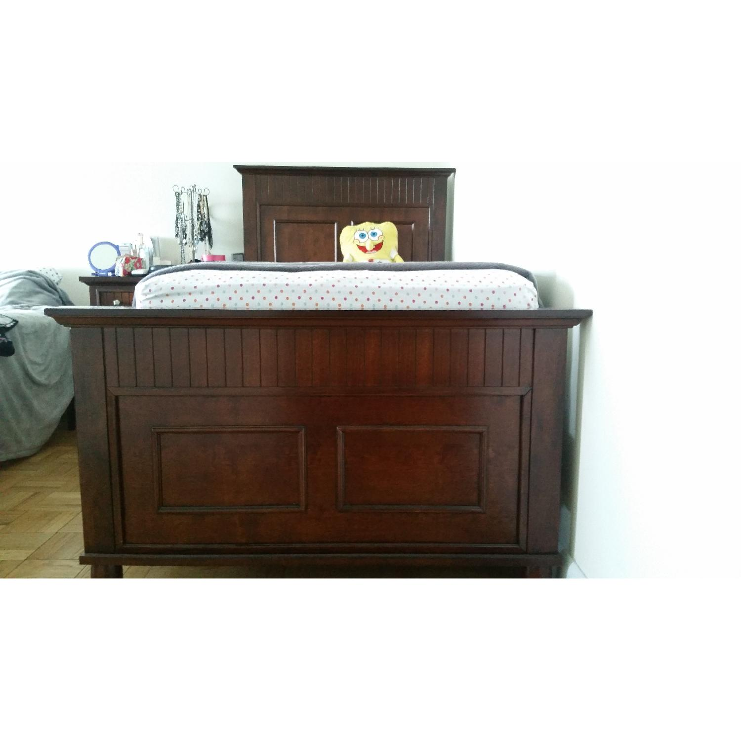 Bob's Spencer Cherry Twin Bed - image-4