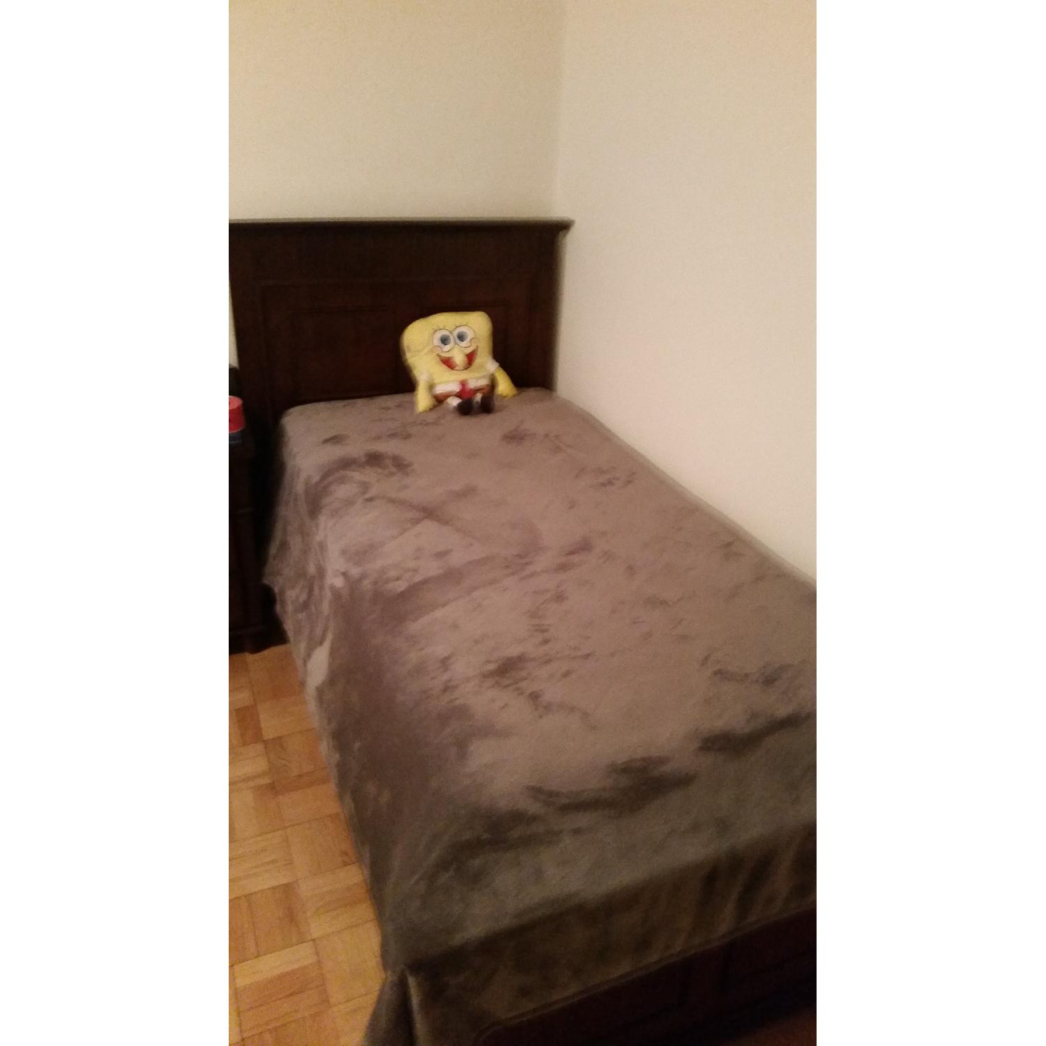 Bob's Spencer Cherry Twin Bed - image-6