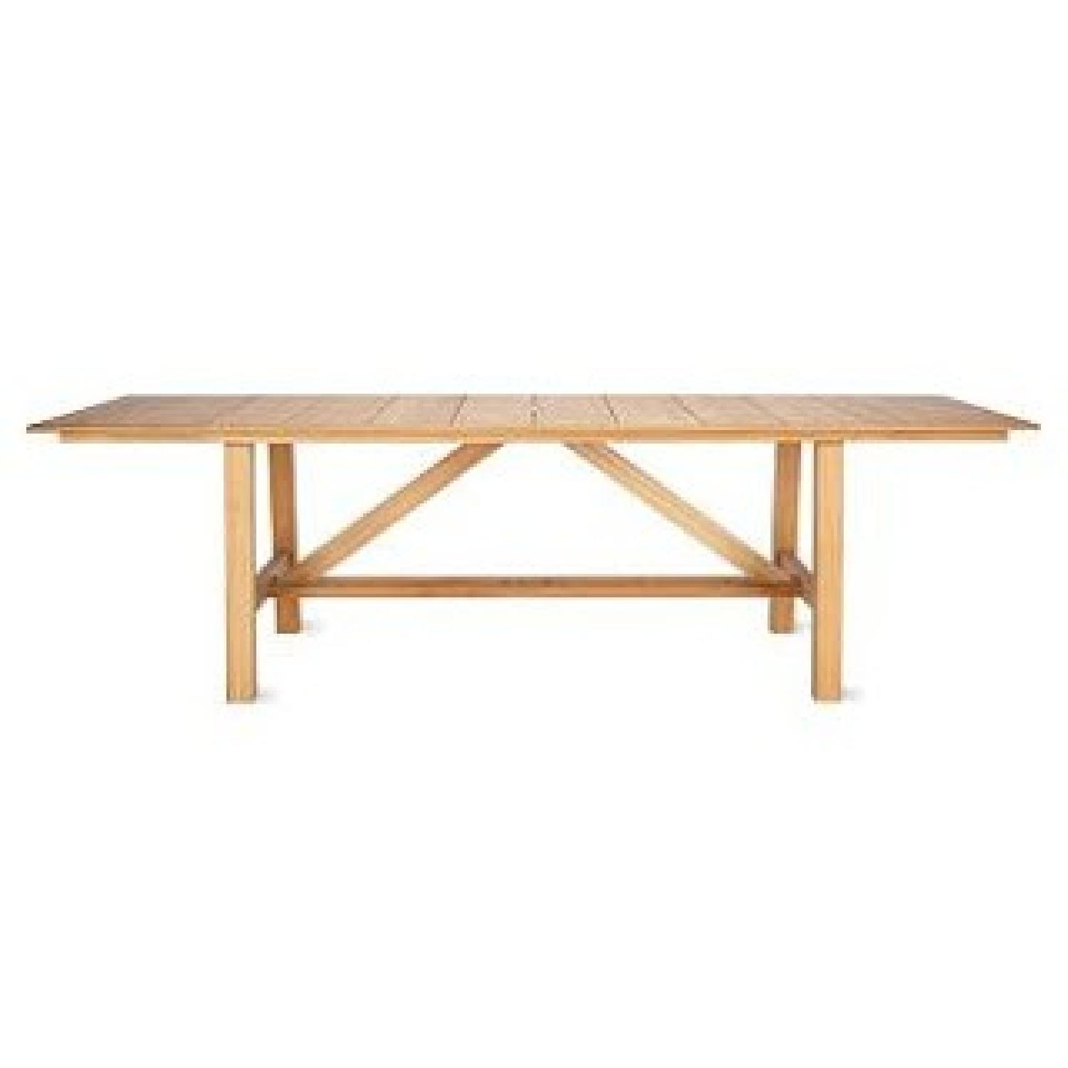 Design Within Reach Alden Collection Teak Outdoor Dining Table - image-0