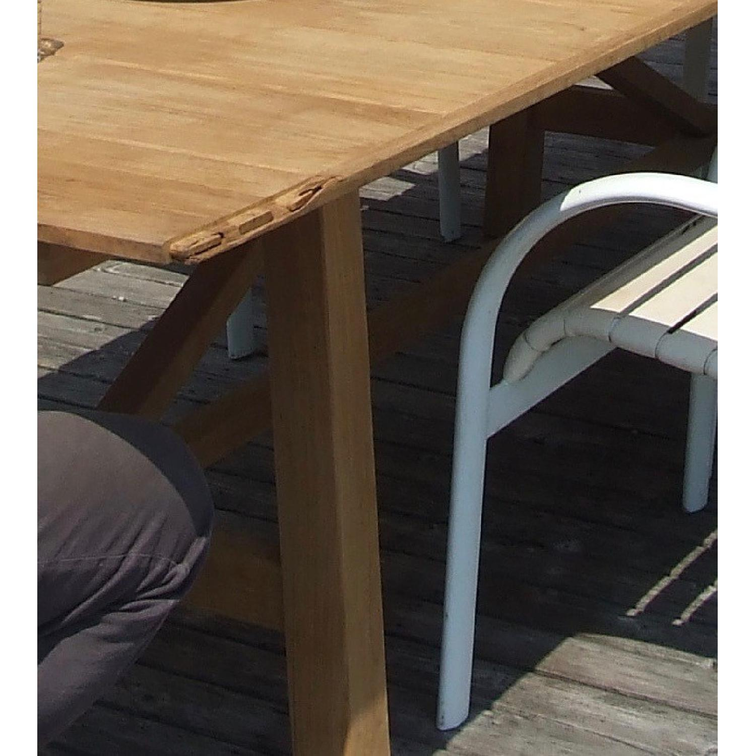 Design Within Reach Alden Collection Teak Outdoor Dining Table - image-4
