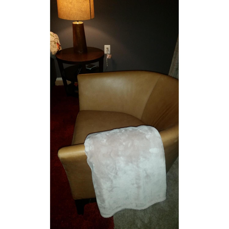 West Elm Tulip Chair in Honey - image-2