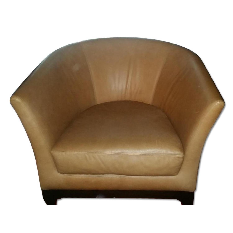 West Elm Tulip Chair in Honey - image-0