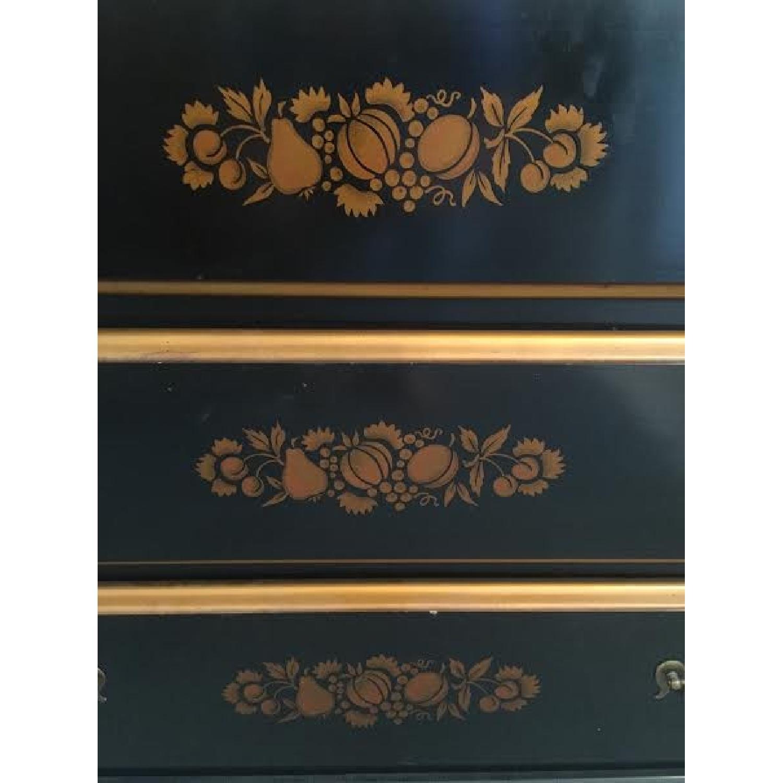 Solid Wood Black Dresser - image-2