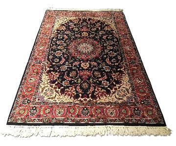 Kashan Persian Handmade Vintage Rug