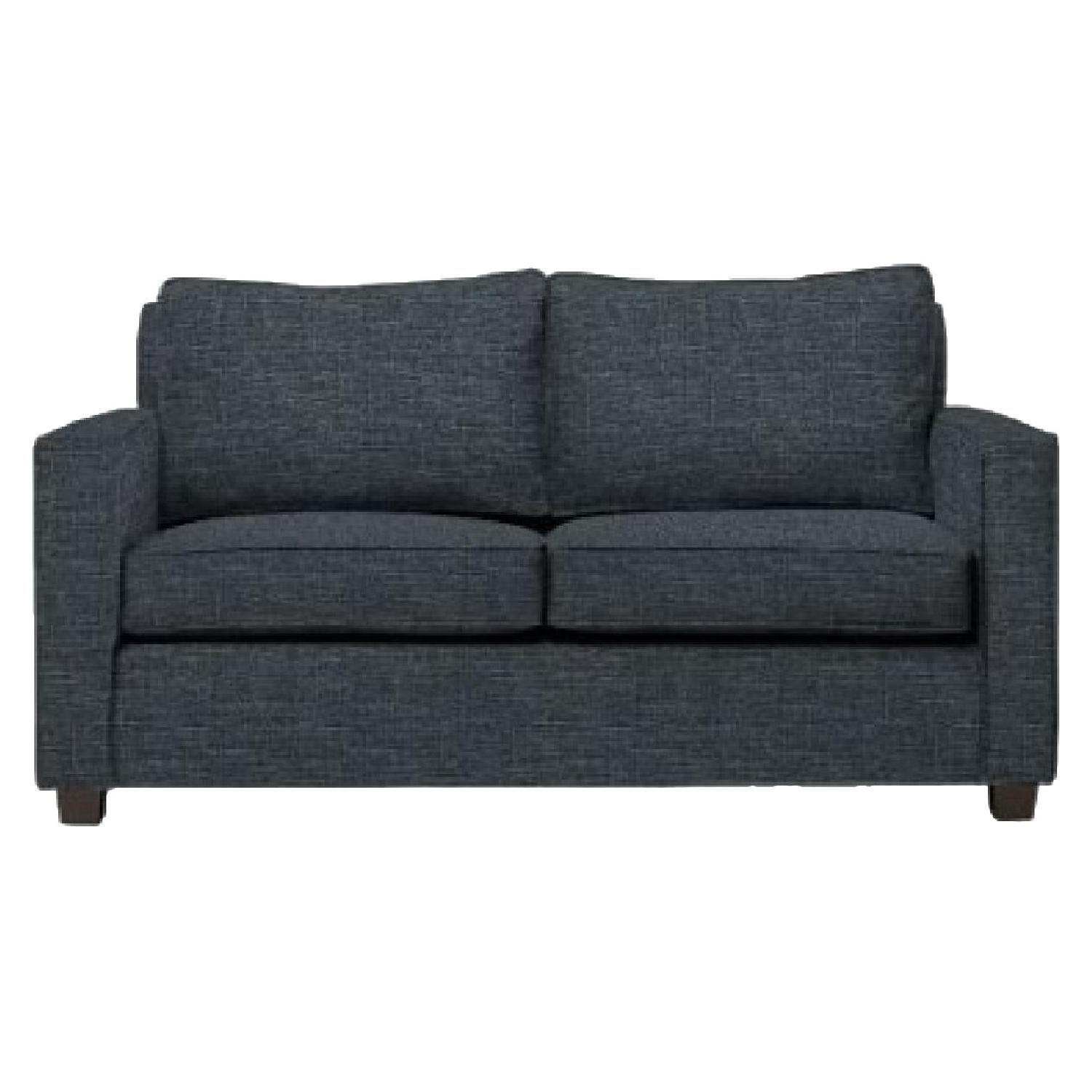 West Elm Henry Basic Twin Sleeper Sofa In Heathered Tweed ...