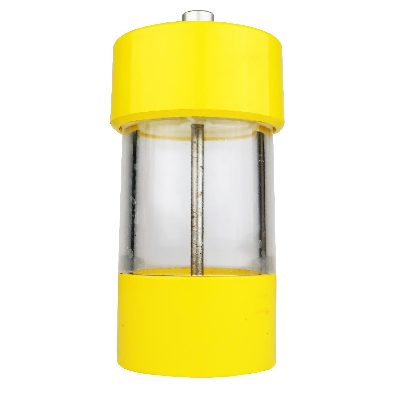 Vintage Yellow WM Bounds LTD Salt or Pepper Grinder