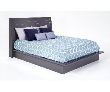 Bob's Platinum King Size Bed Frame