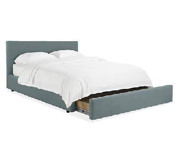 Room & Board Wyatt Full Bed w/ Storage