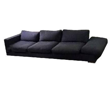 BoConcept Goose Down Fabric 3 Seater Sofa