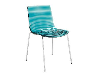 Calligaris L'eau Blue Dining Chairs