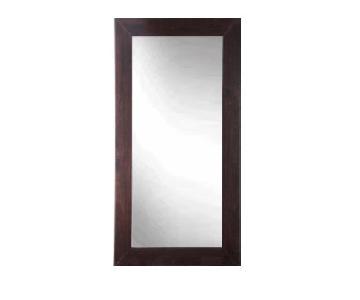 West Elm Wood Framed Floor Mirror