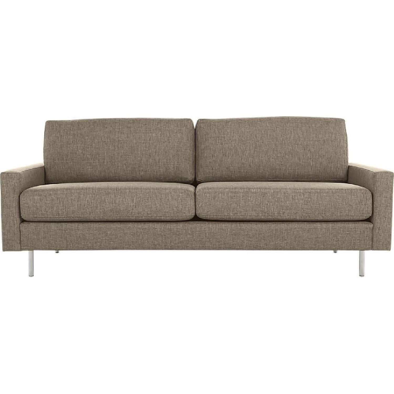CB2 Central Sepia Sofa ...
