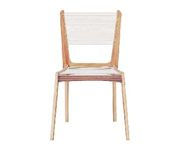 Jacques Guillon Mid-Century Modern String Dining Chair