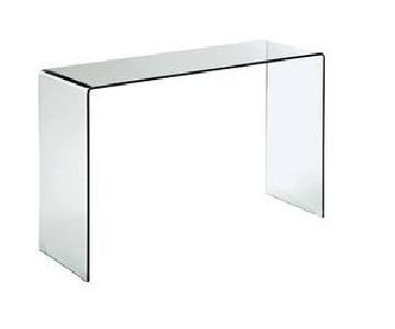AllModern Modern Glass/Acrylic Console Table