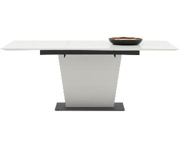 BoConcept Milano Dining Table w/ Supplementary Tabletop