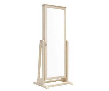 Raymour & Flanigan Full Length Mirror w/ Jewelry Storage