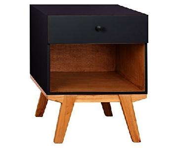 Porthos Home Antique Revival Clementine 1 Drawer Nightstand