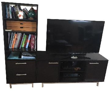 Crate & Barrel TV Stand & Media Tower