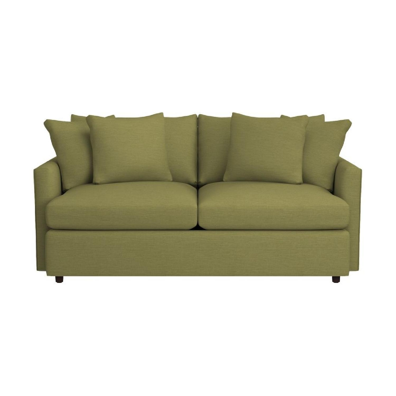 Crate & Barrel Lounge II Apartment Sofa & Ottoman