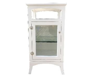 Small Bathroom Cabinet w/ Marble Top