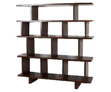 Room & Board Kiva Shelving/Bookcase in Walnut