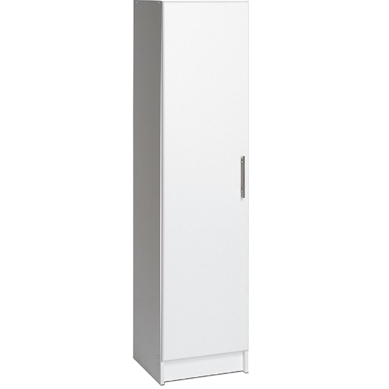 Prepac Elite White 16 Narrow Cabinet ...