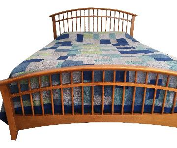 Carolinas Wood Queen Size Bed Frame