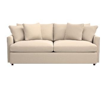 Crate & Barrel Lounge II Apartment Sofa