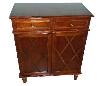 Wood Side Storage Cabinet