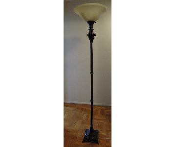 Hunter Lighting Torchiere Floor Lamp