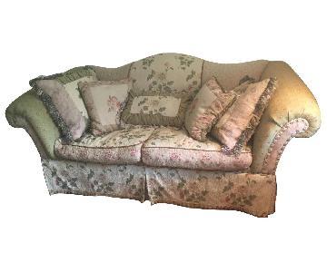 Domain Victoria Collage Fabric Sofa & Ottoman