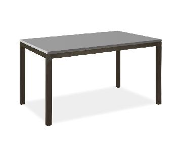 Room & Board Parsons Desk in Grey