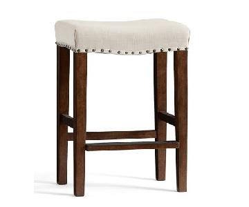 Pottery Barn Manchester Backless Barstools