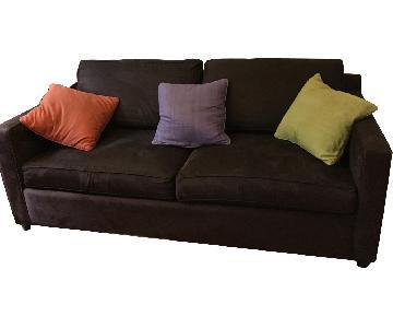 Crate & Barrel Davis Queen Sleeper Sofa