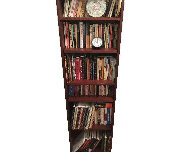 Dark Wood Bookcase
