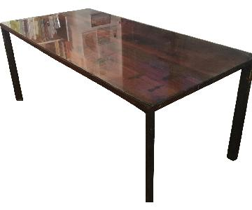 West Elm Industrial Farmhouse Dining Table