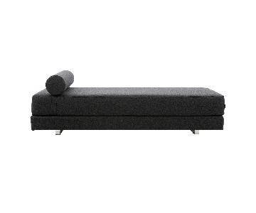 CB2 Lubi Graphite Sleeper Sofa/Daybed
