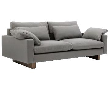 West Elm Harmony Down-Filled Sofa