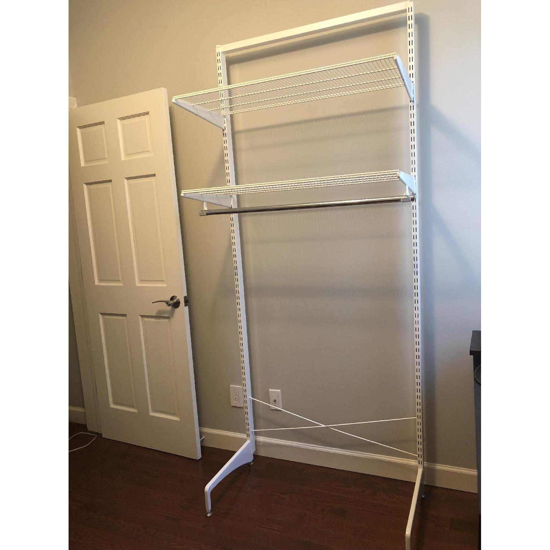 Elfa Freestanding Closet Solution