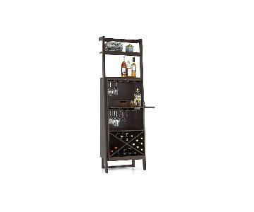 Crate & Barrel Sawyer Leaning Bar in Mocha