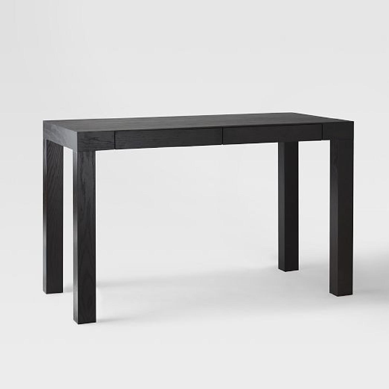 west elm office furniture. West Elm Parsons Desk In Chocolate Office Furniture
