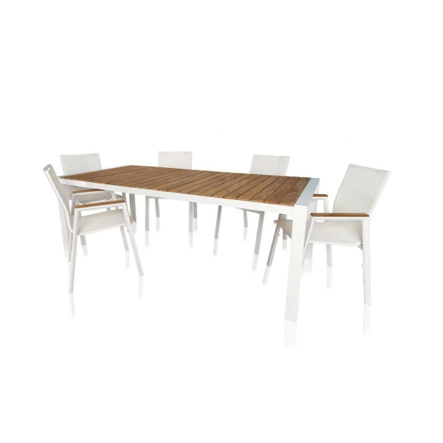 ... Modani Outdoor/Patio Dining Table W/ 6 Chairs 3