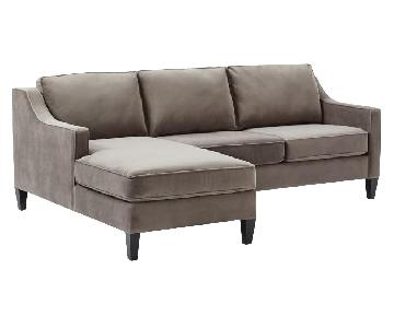 West Elm Paidge Chaise Sectional Sofa
