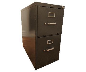Metal 2 Drawer Hanging File Cabinet