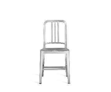 Emeco 1006 Navy Chair in Brushed Aluminum